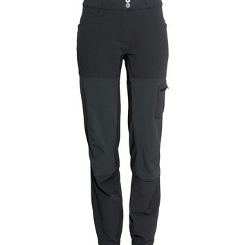 H&M - Outdoor Pants - Black - Ladies