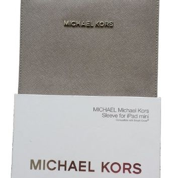 Michael By Michael Kors Sleeve for iPad Mini, Pearl Gray