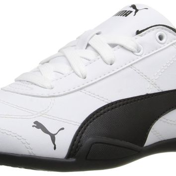 PUMA Tune Cat 3 Ps Sneaker (Little Kid/Big Kid) Puma White/ Puma Black Little Kid (4-8