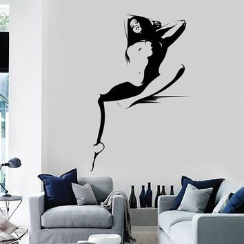 Vinyl Wall decal Hot Sexy Woman Naked Girl Adult Decor Stickers Unique Gift (ig3728)