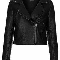 ULTIMATE FAUX LEATHER BIKER