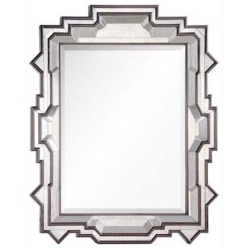 Dutch Brown & Antiqued Mirror by Michael Smith