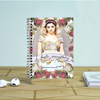 Marina And The Diamond Hate Everything Photo Notebook Auroid