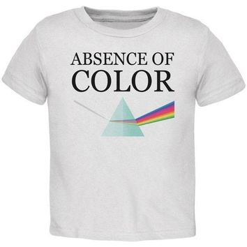 PEAPGQ9 Halloween Absence of Color Costume Toddler T Shirt