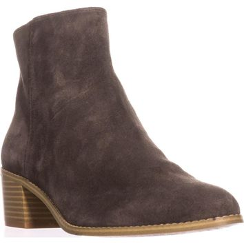 Clarks Breccan Myth Ankle Boots, Khaki Suede, 11 US / 42.5 EU