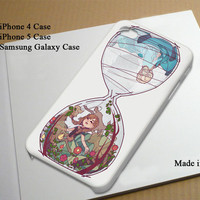 Frozen Hourglass Elsa Anna Best Seller Phone Case on Etsy for iPhone 4, iPhone 4s, iPhone 5 , Samsung Galaxy s3 and Samsung Galaxy s4