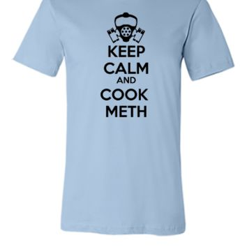 keep calm and cook meth - Unisex T-shirt