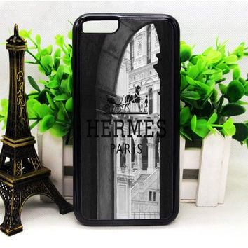 Hermes Paris Castle iPhone 6 | 6 Plus | 6S | 6S Plus Cases haricase.com
