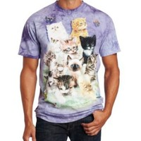 The Mountain Kids Ten Kittens T-Shirt, Medium, Purple