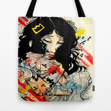 Art Bag - Tote Bag - Market Bag - Watercolor art - Beach Bag - Purse - Art Tote Bag - Art Purse