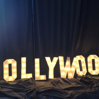 Oscars hollywood sign Marquee letter 18 by WestVintageTradingCo