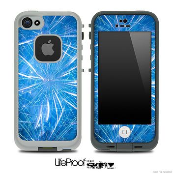 Blue Fireworks Skin for the iPhone 5 or 4/4s LifeProof Case