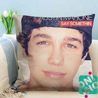 Austin Mahone Say Somethin Zippered Pillow Case, Cushion Case, Pillow case