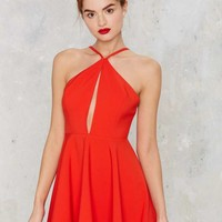 Flirtationship Keyhole Dress