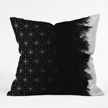 Emanuela Carratoni Desaturate Shadows Outdoor Throw Pillow