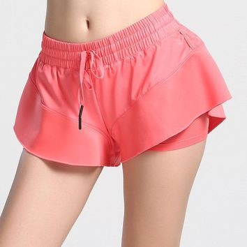 2018 Summer Casual Loose Women Shorts 3 Styles High Quality Fitness Sporting Quick Dry Shorts Not Transparent Dance Short Pants