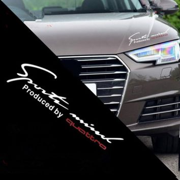 Car Stickers Reflective Lamp Eyebrow Captivating Sports Styling Hood headlight stickers for audi a6 s6 c5 c7 c9 80 100