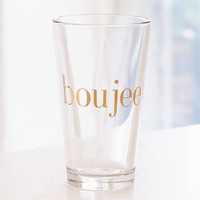 Boujee Pint Glass | Urban Outfitters