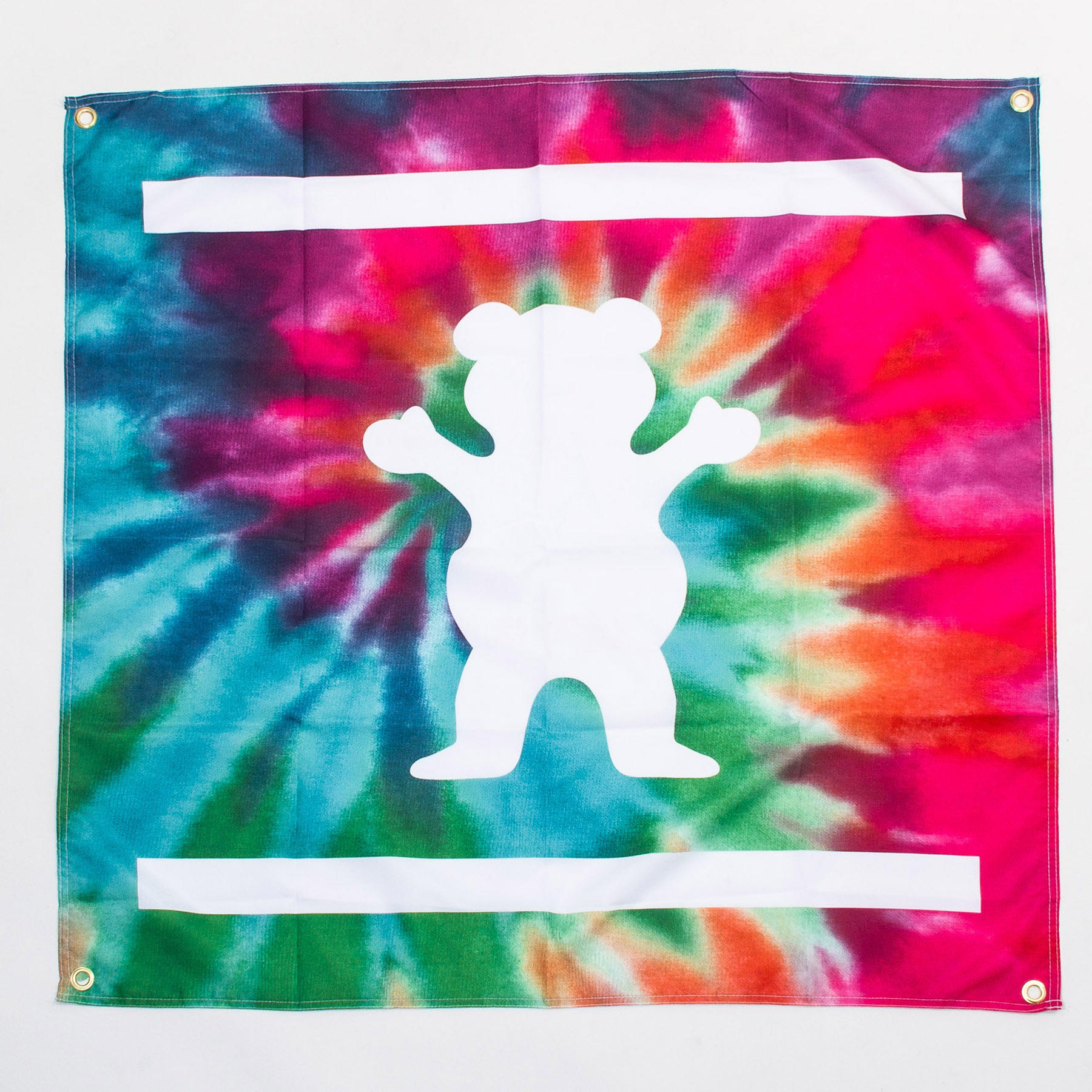 Grizzly Banner in Tie-Dye - ACCESSORIES - from Diamond ...