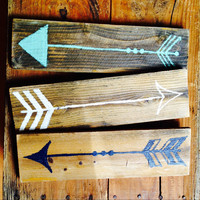 Wood Arrow Sign Set