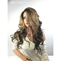 Stella Highlight lace front wig 22""