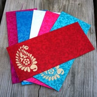 Colorful Paisley Luxe Envelopes
