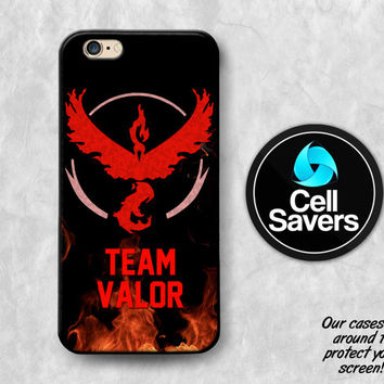 Team Valor iPhone 6s Case iPhone 6 Case iPhone 6 Plus iPhone 6s Plus iPhone 5c iPhone 5 iPhone SE Case Pokemon Go Red Team Valor Fire Bird