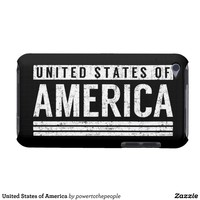 United States of America iPod Touch Case from Zazzle.com