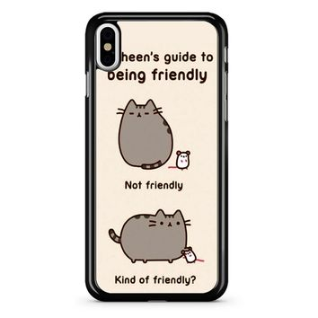 I M Pusheen The Cat 3 iPhone X Case