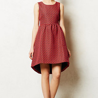 Geojacquard Dress