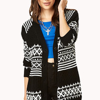 Cozy Fair Isle Cardigan | FOREVER 21 - 2078614209