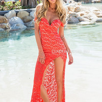 Lace Affair Maxi Dress