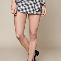 LA Hearts Gingham Skort at PacSun.com