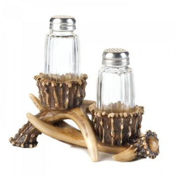 Antler Salt And Pepper Holder