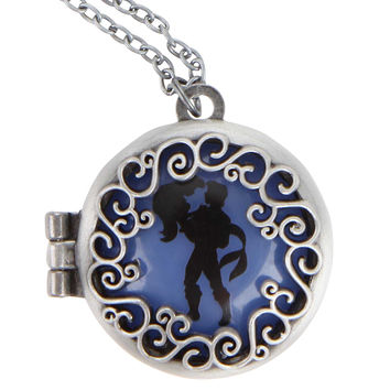 Disney The Little Mermaid Silhouette Locket Necklace