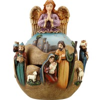 Folk Art Musical Nativity