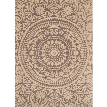Portia Grey Medallion Rug