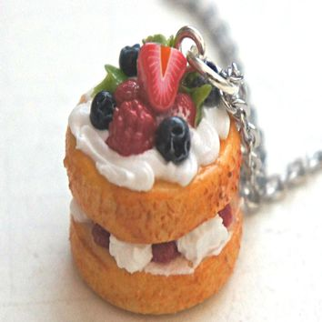 Naked Cake Necklace