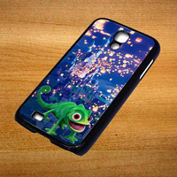 Pascal lantern castle Disney Tangled For Samsung Galaxy S4 Case *76*