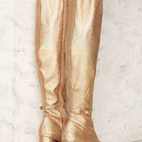 Jeffrey Campbell Ricochet Metallic Boot