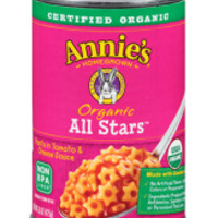 Organic All Stars Pasta with Tomato and Cheese Sauce - 15 oz each