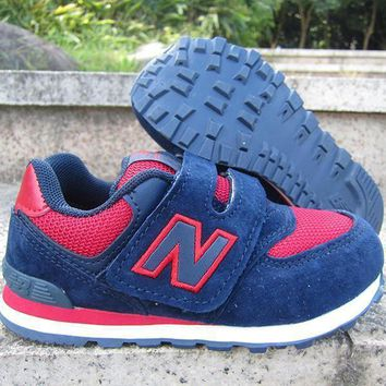 new balance girls boys children baby toddler kids child breathable sneakers sport shoe day first  8