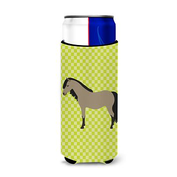 Welsh Pony Horse Green Michelob Ultra Hugger for slim cans
