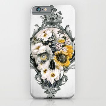 Skull Still Life iPhone & iPod Case by RIZA PEKER