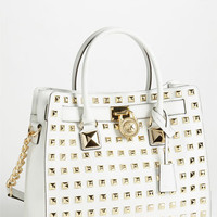 MICHAEL Michael Kors 'Hamilton - Large' Studded Leather Tote | Nordstrom