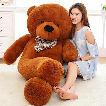 200CM/2M/78inch giant teddy bear soft toy animals kid baby plush toy dolls life size teddy bear soft toy girls toys