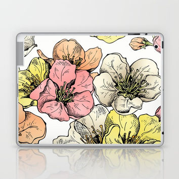 Colorful Poppies Laptop & iPad Skin by MIKART