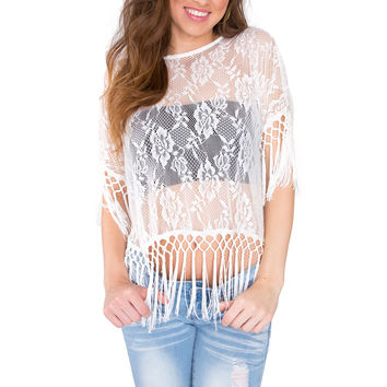 Rooney Lace Crop Top