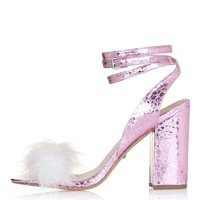 RAZZLE Feather Sandals - New In This Week - New In
