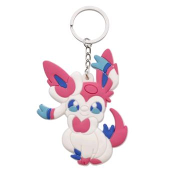 Brand New Video Game Pokemon Sylveon Keychain